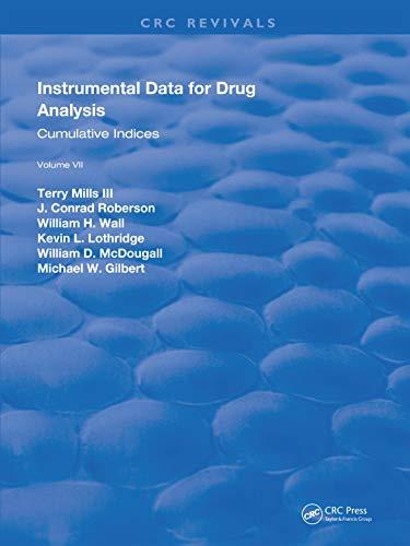 Instrumental Data for Drug Analysis, Second Edition: Volume VII (English Edition)