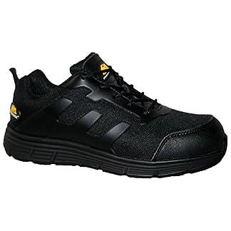 Zapatillas deportivas GR96 para hombre, con puntera de acero, ultraligeras y seguras