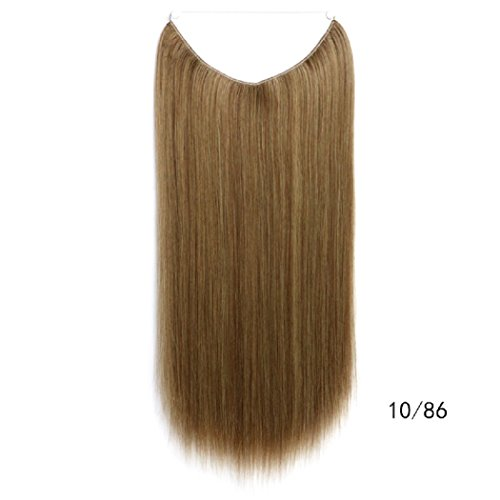 Beauty-emily 55,1cm/80g paralume in linea retta capelli parrucchino resistente al calore diversi colori conk equiseto extension per capelli con elastico per capelli