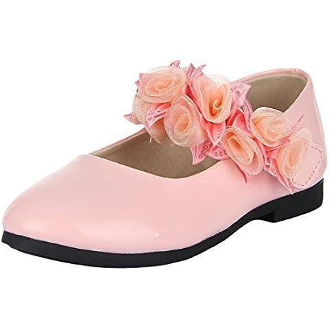 La Vogue Zapatilla Sandalias para Niñas Floral Princesa Boda Fiesta