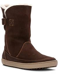 Birkenstock Woodbury Women s Boot Dark Brown-Nubuck 39 M EU