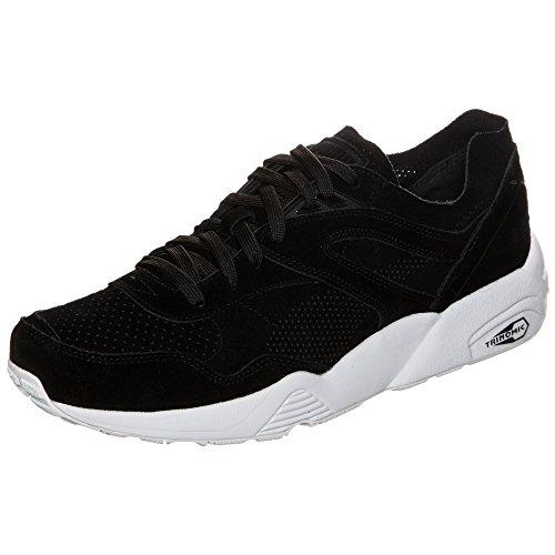 Puma Unisex-Erwachsene Ftrack R698 Soft Pack Sneaker schwarz / weiß