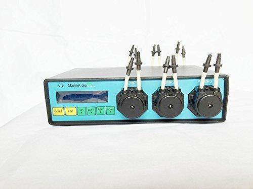 Marine Farbe Dosierpumpe MCD-6, 6-Kanal (Pumpenköpfe) Dosierpumpen, Schlauchpumpe, für Reef Marine Tank-und Labor