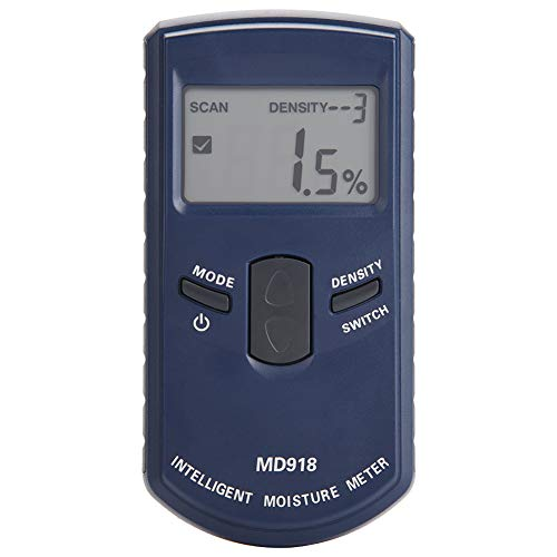 Igrometro Digitale, Akozon MD918 Tester Misuratore Rilevatore Umidità Digital LCD Elettromagnetico Induttivo Detector Intervallo 4{e8058ee862f271dc7d550f428184eea1f16ffb1ed974fd096c04095cf3745d83} ~ 80{e8058ee862f271dc7d550f428184eea1f16ffb1ed974fd096c04095cf3745d83} RH Precisione 0,5{e8058ee862f271dc7d550f428184eea1f16ffb1ed974fd096c04095cf3745d83} Igrometro per Legno, Cartongesso, Tappeti