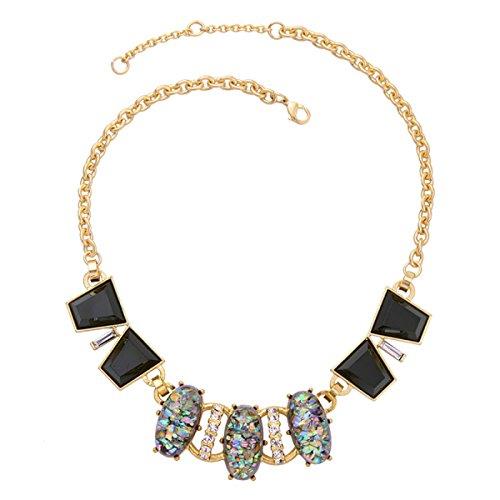 L / C. Europa Und Die Art Und Weise Diamant Natürliche Halskette USA,2-OneSize - Usa Natürliche