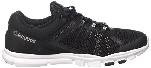 Reebok Yourflex Train 0 Mt, Chaussures de Fitness Homme Noir (Black/Noir Skull Grey/White/Pewter/Grey)