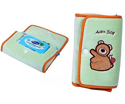 Preisvergleich Produktbild Baby - Beutel für Feuchttücher - Motiv Bär - farbig