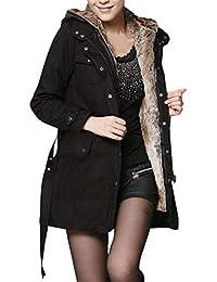 FELZ Abrigos Mujer Invierno Abrigo de algodón Caliente Ultra-Caliente Mejor Venta Abrigo Acolchado Mujer