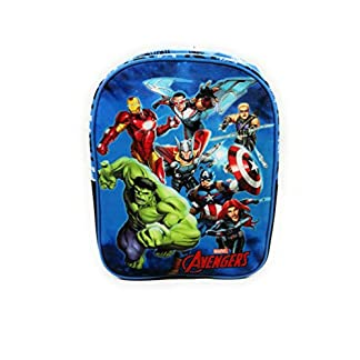 Mochila Avengers Superhéroes para la Escuela o guardería de 32 centímetros de Color Azul