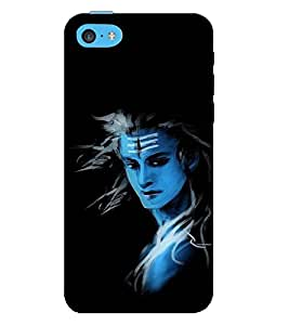 printtech Lord Shiva Back Case Cover for Apple iPhone 5C
