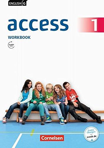 Anglais G Access Workbook, partie 1 (Cahier avec Audios en ligne)