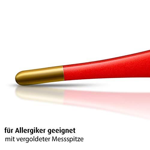 reer 9840 Digitales Fieberthermometer mit flexibler und vergoldeter Messspitze - 2