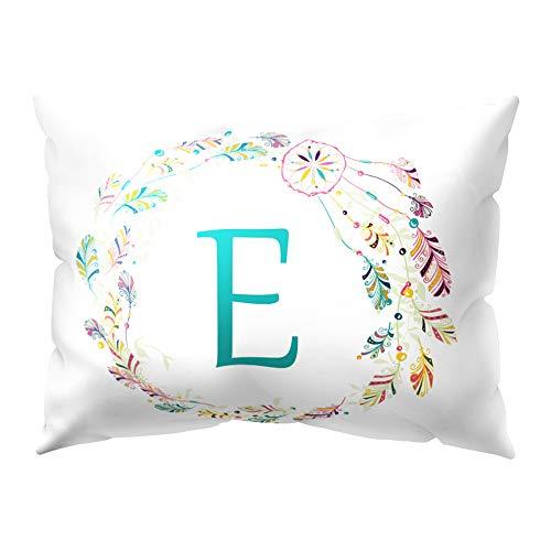 dontdo A-Z - Funda de cojín para sofá o Cama, 30 x 50 cm, diseño de Letras atrapasueños