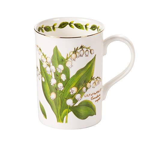 Crown Trent Kaffeebecher Kaffeetasse Teetasse 375ml Maiglöckchen Fine Bone China