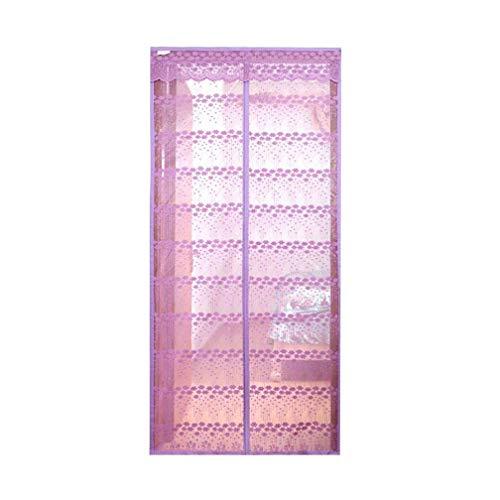 NAXIAOTIAO Sommer Schlafzimmer Klett Anti-Moskito-Vorhang Weichen Vorhang Stumm Magnetischen Magnetstreifen Sand Tür Trennvorhang,022,80 * 210 -