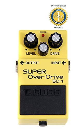 BOSS SD-1 de Super pedal de overdrive