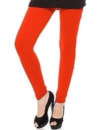 Royal Fit Women's Cotton Lycra Churidar Leggings(Free Size)