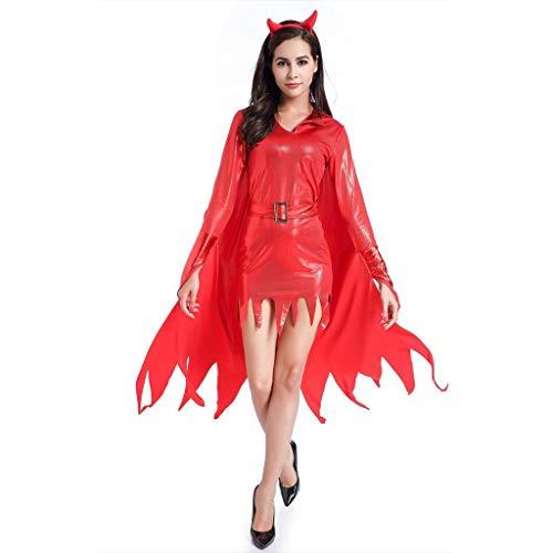Elegante Halloween Kostüm Weiblich - Damen Halloween Kostüm Teufelchen Halloween Cosplay