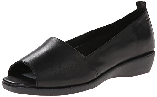 Hush Puppies Petra Carlisle Slip-on Mocassins Black Leather