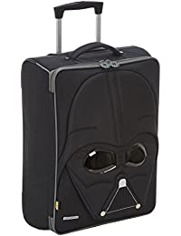 Disney Star Wars Ultimate Upright 52/18 Equipaje Infantil, 33 Litros, Color Negro