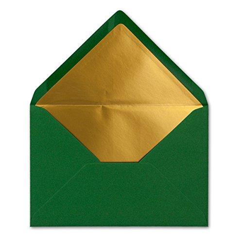 Preiswert Kuverts In Dunkelgrün 25 Stück Brief Umschläge In Din
