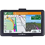 """GUKONIC 5"""" GPS Navegacion Para Coche Speedcam Radar Asistencia de Carril Espana y Completo UE Mapas Descargar  8GB Toda La Vida Mapa Actualizaciones"""