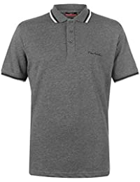 Pierre Cardin Tipped Men's Polo Shirt Short Sleeve Tee Top