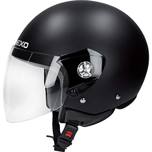Nexo Motorradhelm, Halbschalenhelm, Jethelm Demi Jet Helm City, Unisex, Chopper/Cruiser, Ganzjährig, Thermoplast