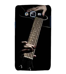 printtech Music Girl Guitar Back Case Cover for Samsung Galaxy J1 (2016) / Versions: J120F (Global); Galaxy Express 3 J120A (AT&T); J120H, J120M, J120M, J120T Also known as Samsung Galaxy J1 (2016) Duos with dual-SIM card slots