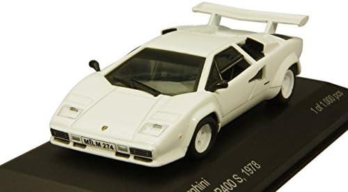 WhiteBox 1/43 Lamborghini Countach 1978 LP400S Blanc | Prix Prix Prix Très Raisonnable  7bebba