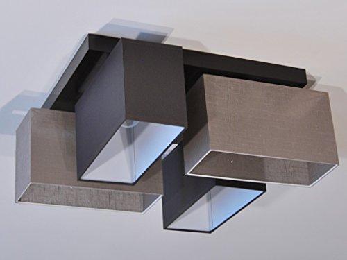 Plafoniere Da Salotto : Plafoniera illuminazione a soffitto in legno massiccio jls4126d