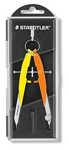 Staedtler 556 00-n3 mars compasso, giallo neon/arancione