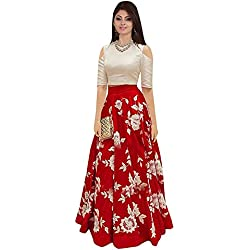 gowns for women party wear (lehenga choli for wedding function salwar suits for women gowns for girls party wear 18 years latest sarees collection 2017 new design dress for girls designer sarees new collection today low price new gown for girls party wear) (red)