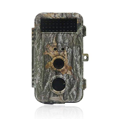 a 16MP 1080P Infrarot-Nachtsicht-Bewegungsaktivierung Wild Hunting Game Cam 120 ° Erkennungsbereich 0,5 s Triggergeschwindigkeit IP56 Wasserdicht ()