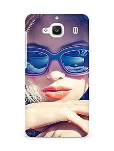 Amez designer printed 3d premium high quality back case cover for Xiaomi Redmi 2 Prime (Halston Sage Seventeen Magazine Photo)