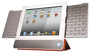 IN2UIT BoomPack Wireless Bluetooth Speaker System with Case Cover for iPad 2/3/4 - White