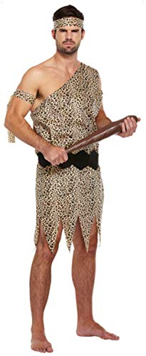 Caveman Outfits - Fancy Me Herren Caveman historischen prähistorische