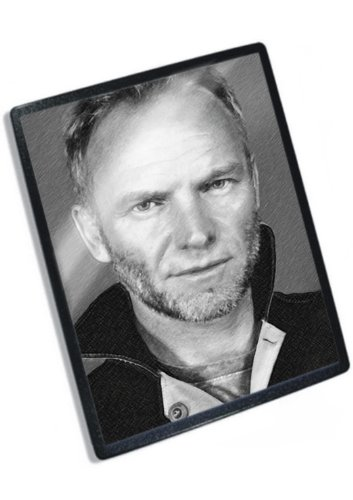 STING - Original Art Mouse Mat (Signed by the Artist) #js001