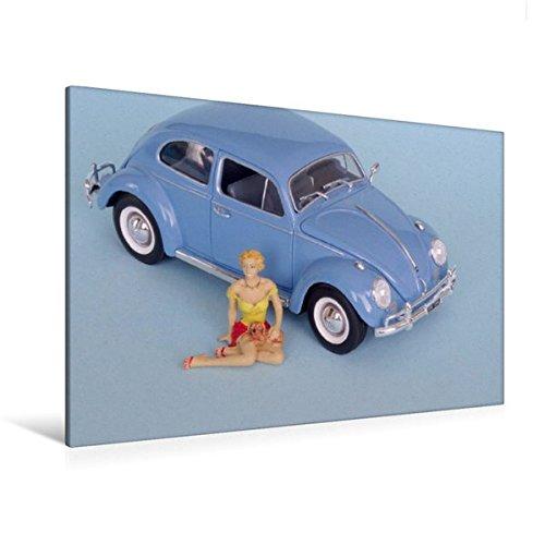 Premium Textil-Leinwand 120 cm x 80 cm quer, VW 1200 Export ('61) | Wandbild, Bild auf Keilrahmen, Fertigbild auf echter Leinwand, Leinwanddruck (CALVENDO Hobbys) (Sammler Leinwand Kunst)