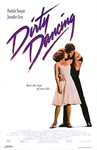 Classic DIrty Dancing P. Swayze Movie Film Poster in sizes