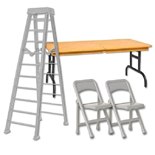 10-silver-ladder-ultimate-tlc-set-wrestling-figure-accessories-for-wwe-tna-action-figures