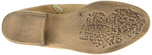 Laufsteg München - Fs161005, Scarpe col tacco con cinturino a T Donna Marrone (Marrone)