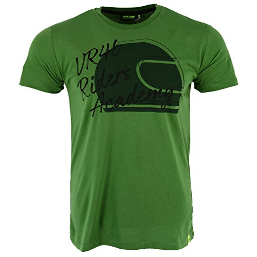 37e2966007c90 Valentino Rossi VR46 Moto GP Riders Academy Military Green T-Shirt Official  New