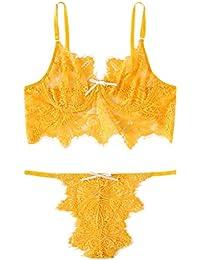 889a6220745 Women Sexy Lace Underwear Lingerie Corset Lace Underwire Racy Muslin Sleepwear  Underwear+Briefs Temptation Lingerie