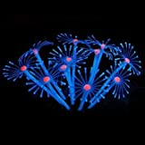 Description: Ã this artificial coral is for fish tank decoration. With 6 colors altogether, very beautiful and lifelike. It is soft, flexible and dynamic, adding unique landscape for your blank and tedious fish tank. Aquarium dedicated, there is no p...