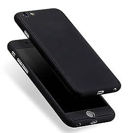 Leathlux Cover iPhone 6S / iPhone 6 Custodia + Pellicola