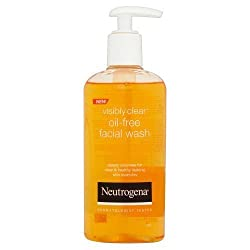 Neutrogena Visibly Clear Oil- free Facial Wash 200 ml Made In Greece With Lux Soap 57 gm