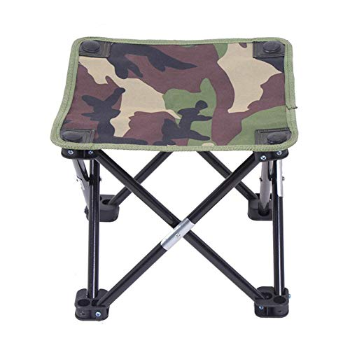 Romote Ultralight Tragbare Faltbar Camping Stühle Hocker für Strand Garten Picknick outdoor Camp Reise, Aluminium Legierung Rahmen, reißfestem Oxford Tuch, rutschfeste Füße, mit Tasche