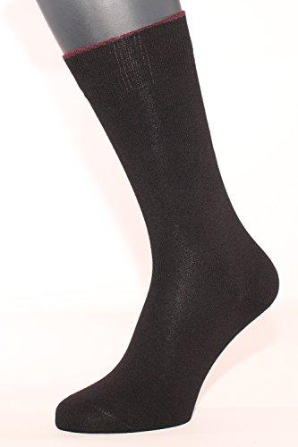 ALBERT KREUZ Business Herren-Socken aus Baumwolle-Kaschmir in Schwarz 39-41 (Luxus Cashmere Blend Herren-socken)