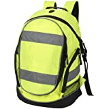 High visibility rucksack / backpack Yellow